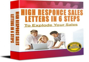 Give You High Response Sales Letters