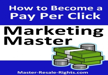 Give You How to Become a Pay per Click