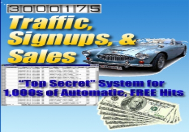 Give You Traffic, signups, & sales
