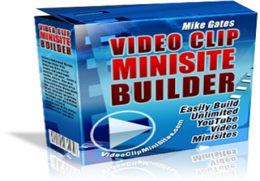Give You Video Clip Minisite Builder