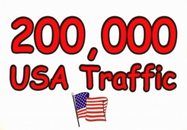 Send you 200,000+ USA  Country Visitors Your site Or Blog
