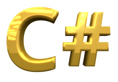 help you in C# or .NET project Programming