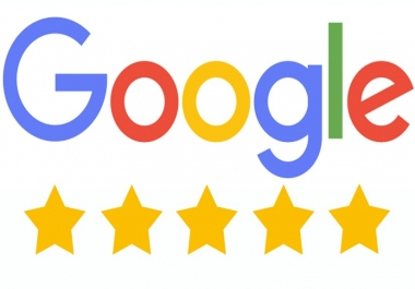 write 2 five stars Google reviews for your business