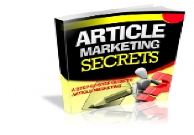 Give You Article Marketing Secrets