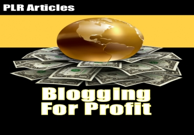Give You Blogging for Profit.