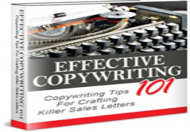 Give You Effective Copywriting  101