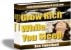 Give You Grow rich while you sleep