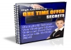 Give You High Converting One Time Offer Secrets