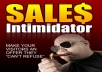 Give You Sales Intimidator