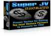 Give You Super JV( Joint Venture) Secrets