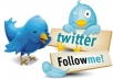 Tweet your company details incl weblink via my 15 Twitter Accounts